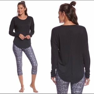 Lucy Final Rep Long Sleeve Shirt Black Large